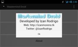 Mastermind Droid screenshot 6/6