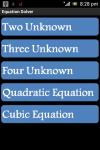 Equation Master screenshot 1/4