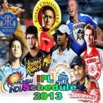 IPL6 Cricket Schedule 2013 screenshot 1/4