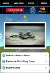 3D Airplane flight Free screenshot 1/3