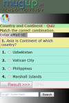 Country and Continent Quiz screenshot 2/3