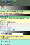 Country and Continent Quiz screenshot 3/3