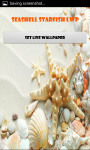 Seashell and Starfish Live Wallpaper Best screenshot 1/4
