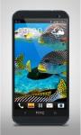 Flock of Colorful Fish Live WP screenshot 1/3