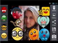 Cute Emoticon Camera Sticker screenshot 2/4
