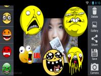 Cute Emoticon Camera Sticker screenshot 3/4