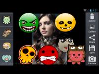 Cute Emoticon Camera Sticker screenshot 4/4