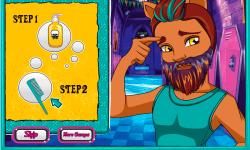 Monster High Clawd Wolf Beardy Makeover screenshot 1/4
