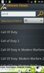 Ultimate Cheats screenshot 1/6