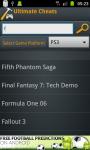 Ultimate Cheats screenshot 4/6