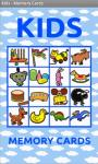 Kids Memory Cards screenshot 1/6
