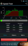 Speed Test Android by BeMobile screenshot 4/4