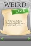 Weird Laws FREE screenshot 1/1