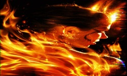Fire Girl Lwp screenshot 2/3
