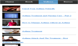 Asthma Treatment screenshot 3/3