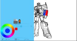 Painting for kids: Robots screenshot 2/3