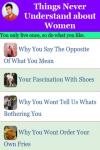 Never Understand about Women screenshot 1/3