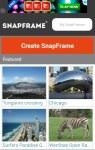 SnapFrame - Create Beautiful Photo Frames screenshot 1/4