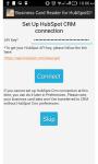 Business Card Reader for HubSpot CRM screenshot 1/6