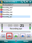 Resco Audio Recorder screenshot 1/1
