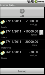 Expense Register PL_TIERRA screenshot 1/4