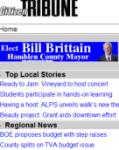 Citizen Tribune Blackberry App screenshot 1/1