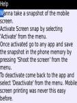 Screen snap Blackberry screenshot 4/4