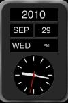 Desktop Clock screenshot 1/1