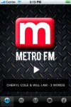 Metro FM screenshot 1/1