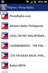 Pinoy Filipino Radio screenshot 1/4