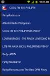 Pinoy Filipino Radio screenshot 4/4