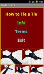 How To Tie A_Tie screenshot 2/4
