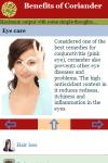 Benefits of Coriander screenshot 3/3