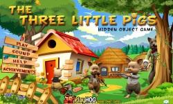 Free Hidden Object Games - The Three Little Pigs screenshot 1/4