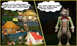 Free Hidden Object Games - The Three Little Pigs screenshot 2/4