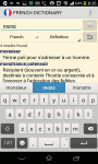 Advanced  French Dictionary screenshot 3/3