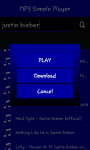 MP3 Simple Player and Download screenshot 4/6