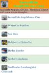 Incredible Amphibious Cars screenshot 2/3