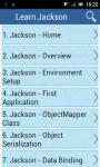 Learn Jackson screenshot 1/3