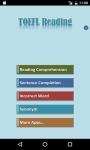 TOEFL Reading Comprehension screenshot 1/6