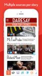 Daresay - Your News Cheatsheet screenshot 1/5