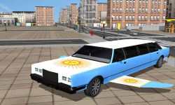 Flying Limo Car Driving Fever screenshot 2/6