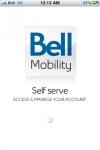 Bell Mobility Self serve screenshot 1/1