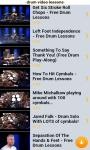 Drum Video Lessons Free screenshot 4/6