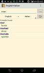 ENGLISH - ITALIAN Dictionary screenshot 3/3