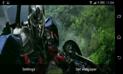 Transformers Optimus Prime Live Wallpaper screenshot 3/6