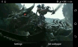 Transformers Optimus Prime Live Wallpaper screenshot 5/6