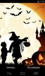 Halloween Live Wallpaper 3D parallax effect screenshot 1/5