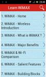 Learn WiMAX screenshot 1/3