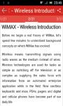 Learn WiMAX screenshot 2/3